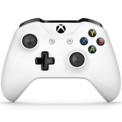 Xbox One 特別版藍牙白色無線控制器/搭載Bluetooth,支援Win10裝置進行遊戲