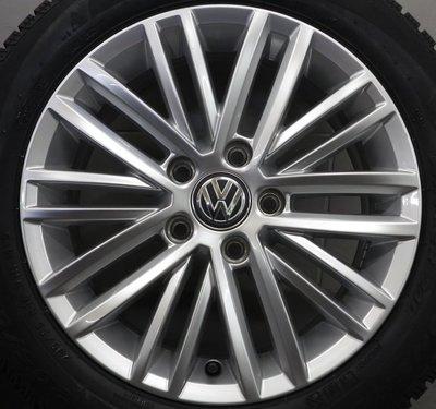 中古 福斯 VW 原廠16吋鋁圈含胎 T4 VR6 Golf Caddy Passat  Touran Tiguan