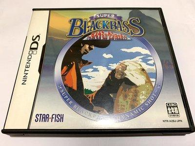 幸運小兔 NDS遊戲 NDS 超級黑巴斯 釣魚 Super Black Bass 任天堂 2DS、3DS 適用 F8