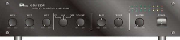 【昌明視聽】PA TECH QSM-820P 多用途立體混音功率擴大機 可以長時間開機使用