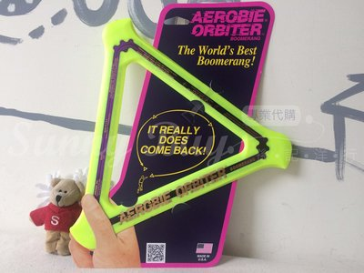 【Sunny Buy運動館】◎預購◎ 美國代購 迴旋 飛盤 Aerobie Orbiter Boomerang 隨機顏色