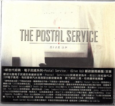 The Postal Service Give Up 全新未拆 再生工場1 03
