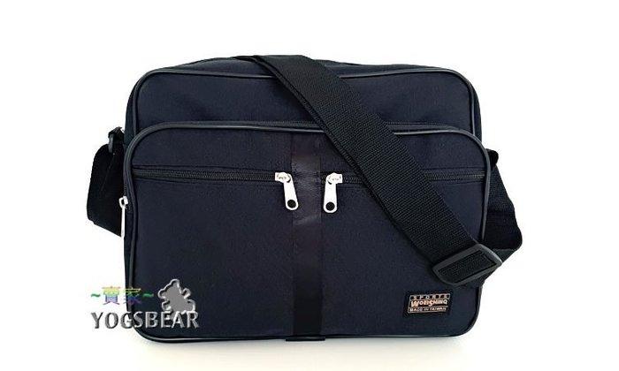 【YOGSBEAR】台灣製造 D 防水 側背包 斜背包 休閒包 公事包 肩背包 護照包 工具包 書包 W~S 小