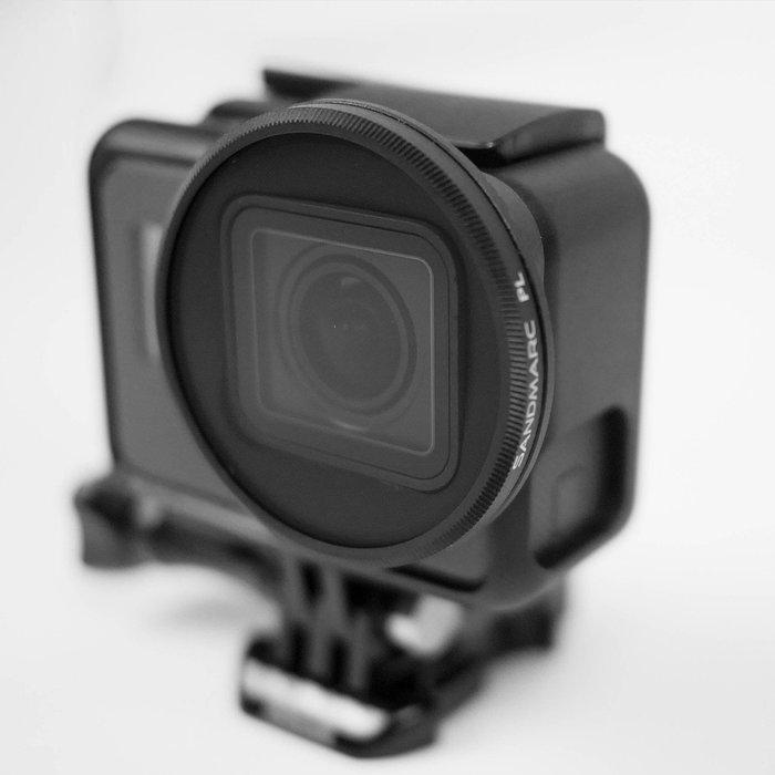 SANDMARC GoPro Hero5/6/7 專用 CPL 偏光鏡(KARMA 空拍適用)台南PQS 免運費