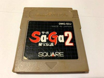 幸運小兔 GB遊戲 GB 魔界塔士 祕寶傳說  SAGA  任天堂 GameBoy GBC、GBA 適用 F7