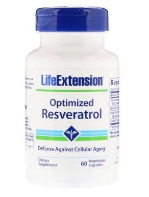 Life Extension 優化複方高劑量白藜蘆醇 (另含 槲皮素 葡萄 野生藍莓 多酚)60粒素食(頂級品牌 非基改