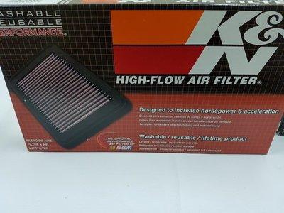 美國K&N原廠交換型高流量濾芯