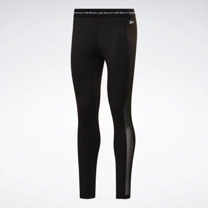 FOCA Reebok 2020 LesMills 系列 High 運動褲 女款 內搭褲 緊身褲 FM7167 黑色