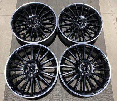二手精品 正廠 賓士 Benz W204 C63 AMG 19吋前後配 鋁圈 C300 C250 C200 高性能完美升