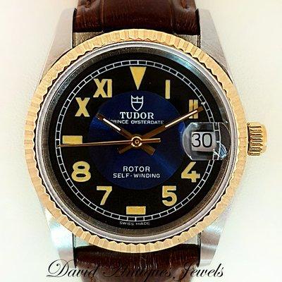 ((天堂鳥)) ROLEX TUDOR Prince勞力士帝舵74033 半金自動錶 /  特殊加州面板