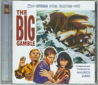Big Gamble/Treasure of the Golden Condor- Maurice Jarre,全新45
