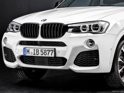 【樂駒】BMW 原廠 F26 X4 M-Performance 黑色 高光澤 黑水箱罩 黑鼻頭 外觀 空力 套件