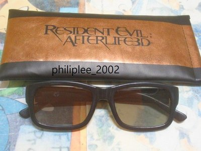 3D 眼鏡 glasses 生化危機3D 戰神再生 Resident Evil: Afterlife 電影宣傳品
