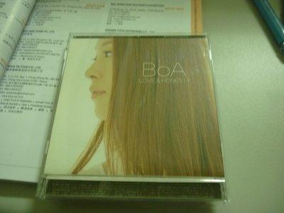 寶兒BOA---LOVE & HONESTY --二手CD.100下標就賣