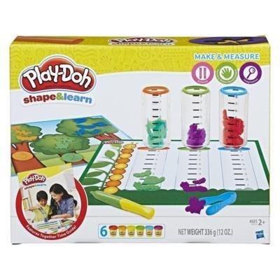 【W先生】培樂多 Play-Doh 孩之寶 黏土 測量比較遊戲組 創意DIY黏土