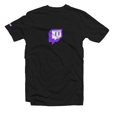 正版twitch短袖 正版twitch twitch twitch衣服 twitch短袖 圖奇
