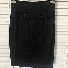 CLUB MONACO 黑色及膝裙鉛筆裙