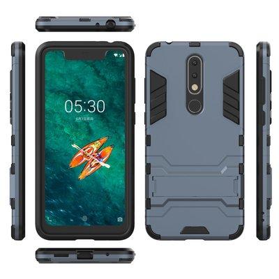 Nokia 5.1 Plus X5  Nokia5.1+ 5.8吋 鋼鐵俠 手機支架 手機保護殼 保護套 防摔殼 防護套
