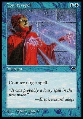 魔法風雲會 Tempest 暴風雨 Counterspell 反擊咒語 英文