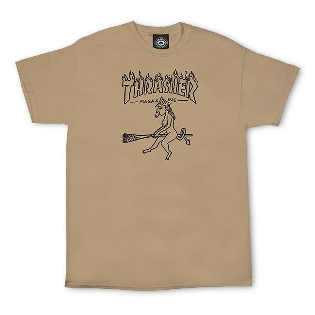 (安心胖) Thrasher Witch T-shirt 女巫 XL