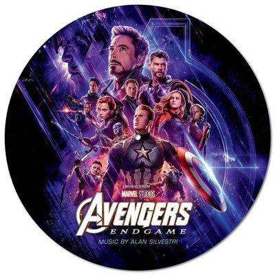 Avengers:Endgame 復仇者聯盟4 終局之戰 電影原聲帶 LP彩膠唱片