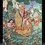 【 金王記拍寶網 】S658 中國西藏藏密佛像刺繡唐卡 唐卡 一張 完美罕見~