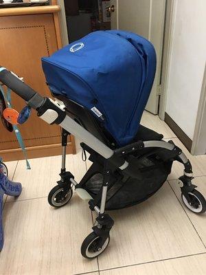 Bugaboo bee 嬰兒推車~藍色(少用)