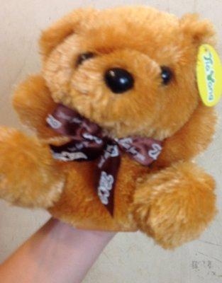 全新可愛熊手動玩偶