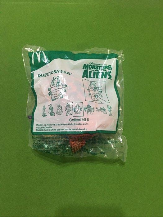 麥當勞2009年怪獸大戰外星人蟲恐龍公仔直購價120元