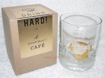 【現貨】agnes b Cafe LPG 小b 精品【DRINK HARD 金色限定版水杯】 全新