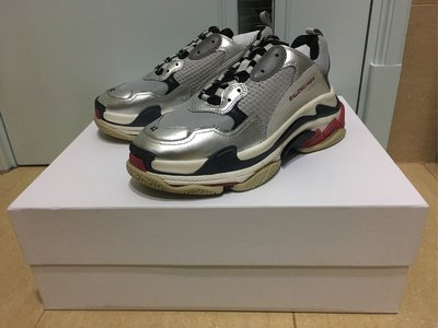 Balenciaga Triple S Grey Silver Red Black Blue Green Yellow Lego Speed Trainer