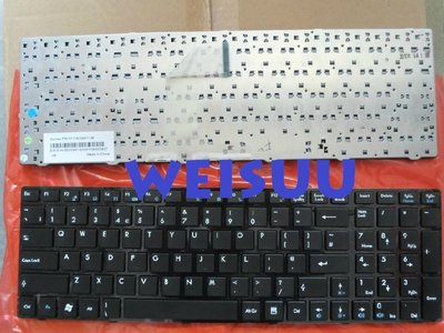 {偉斯科技}MSI S6000 FX600 CR650 CX623 FX700 GX680 適用鍵盤
