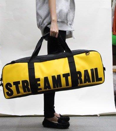 日本Stream Trail戶外防水包~新品WAHOO蛙鞋包-黃色  釣魚、相機三腳架、風帆、衝浪配件 、蛙鞋等