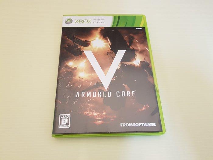 最便宜 XBOX 360 原廠 二手 遊戲片 機戰傭兵 V ARMORED CORE V 只賣230 店內另有大量遊戲
