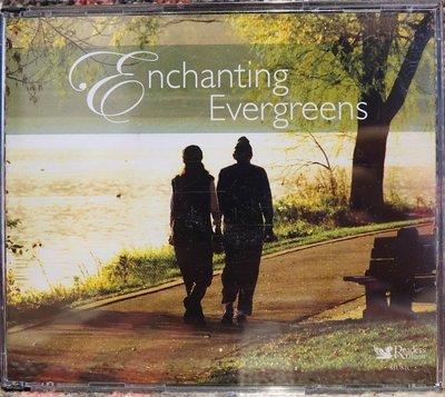 全新絕版正版 CD 懷舊西洋歌音樂集【Enchanting Evergreens】全套五張 CD!低價起標無底價!