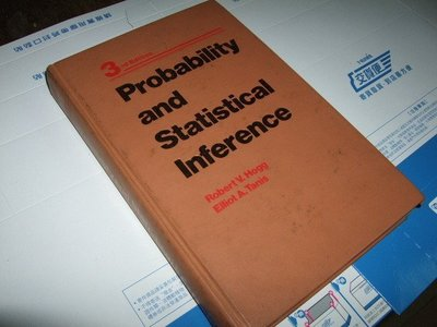 老殘二手書 Probability and Statistical Inference 0023558105