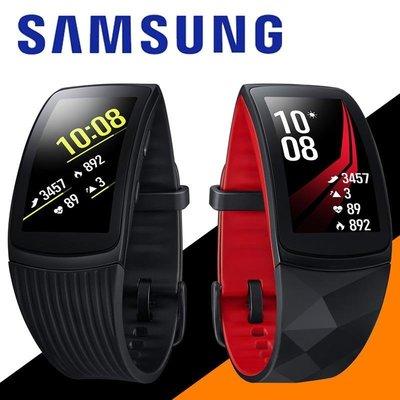 預購 三星 Samsung Gear Fit2 Pro 配原廠錶帶&充電器 二手 98新 黑色 紅色