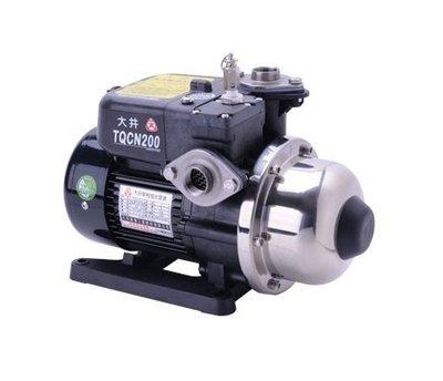 【川大泵浦】 大井WARLUS TQCN-200B 熱水加壓機。1/4HP。TQCN200B (TQCN200)
