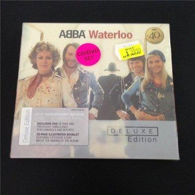 正版CD+DVD《阿巴合唱團》滑鐵盧【CD +DVD名盤】/ ABBA Waterloo 全新未拆