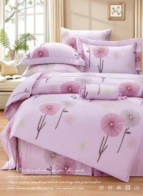 《微琪》朵莉思 粉頂級100%天絲40支床包二用被4件組-雙人加大(6尺)