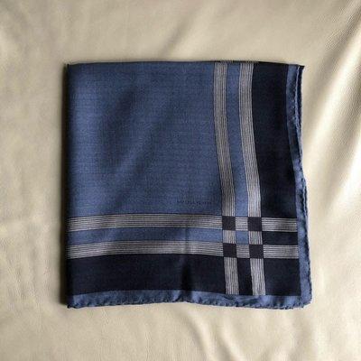 [熊熊之家3]保證全新正品 Bottega Veneta BV 藍色 100%  cashmere  圍巾 領巾