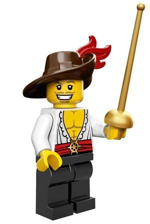 現貨【LEGO 樂高】積木/ Minifigures人偶系列: 12代人偶包抽抽樂 71007   劍客