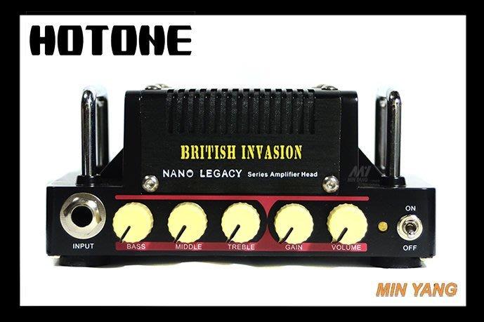 【民揚樂器】迷你 音箱頭 HOTONE Nano Legacy British Invasion 附18V電源
