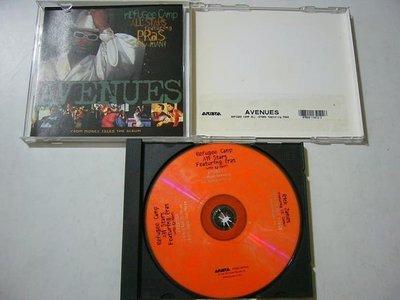 舊CD英文單曲-Avenues-Refugee camp all stars featuring pras-進口絕版混音單曲5首(無刮傷近全新)