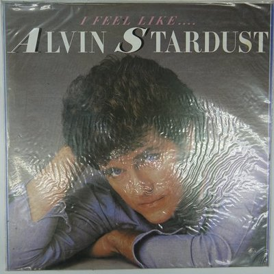合友唱片 I FEEL LIKE ALVIN STARDUST 黑膠唱片 LP 面交 自取