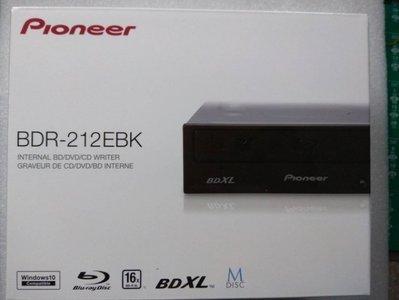 @淡水無國界@ Pioneer 先鋒 BDR-212EBK 藍光燒錄機 內接藍光DVD 光碟機 取代BDR-209EBK 新北市