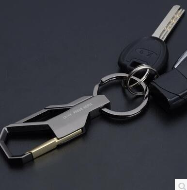 男士腰掛簡約金屬鎖匙扣創意鑰匙鏈Dhh1577