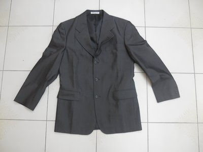 (二手)PIERRE BALMAIN 深藍色正式款西裝外套 (46)