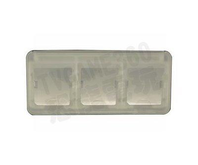Nintendo 3DS N3DS N3DSXL N3DSLL 遊戲卡匣收納盒 6片裝卡夾收納盒 白色【台中恐龍電玩】