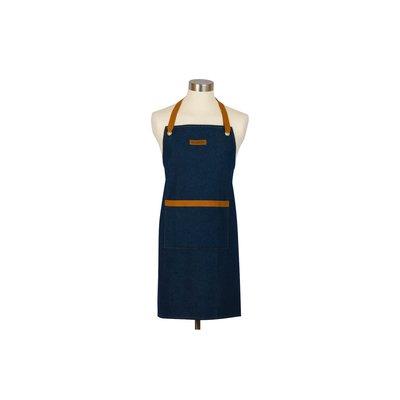 Le Creuset 主廚圍裙 (牛仔布深藍)